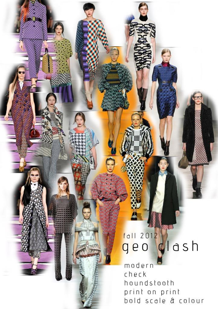 fall 2012 print trend geometrics