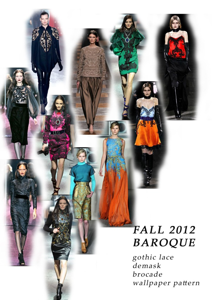fall 2012 trend baroque