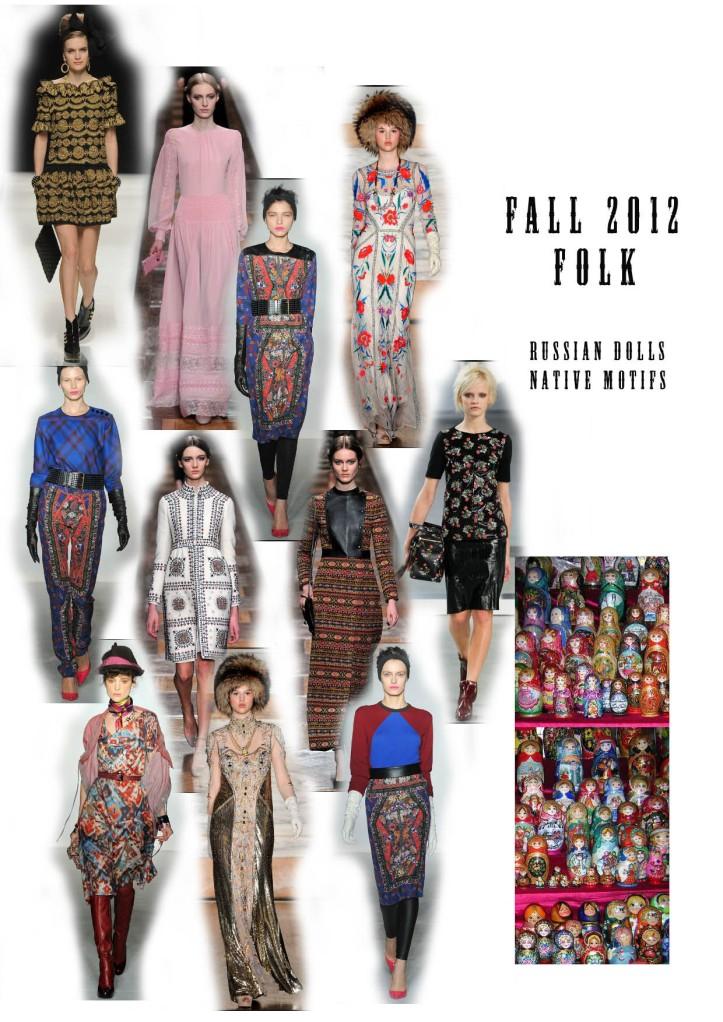 fall 2012 trend folk
