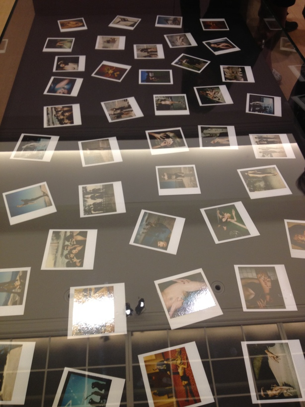 Helmut Newton, Grand Palais, Fashion Photography, polaroids