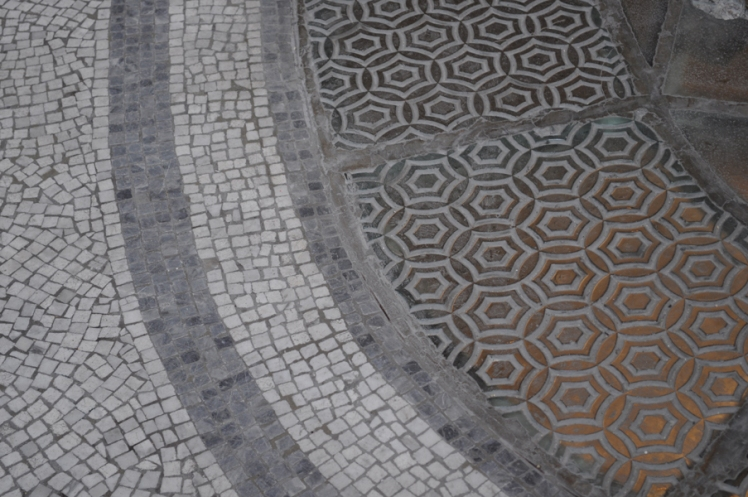 grand palais, paris, texture, tiles, pattern, mosaic, geometric,