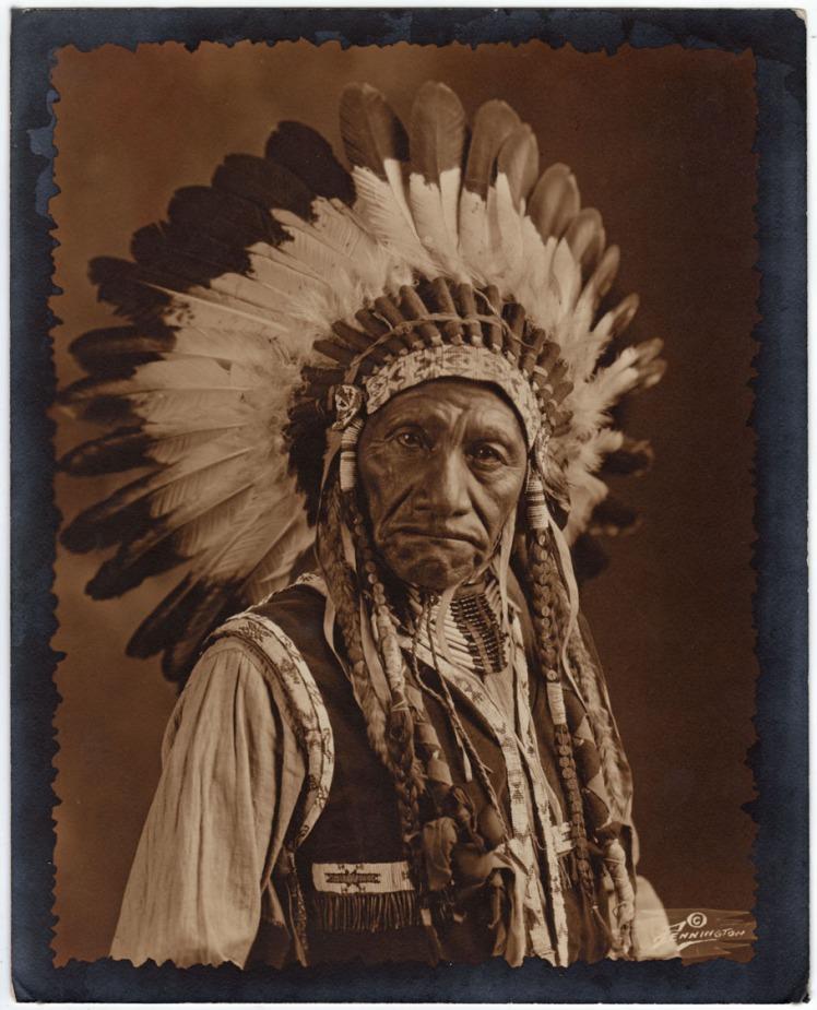 navajo feather headdress native american beading