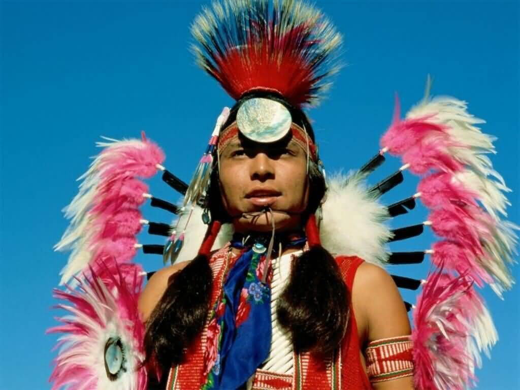 Present Day Navajo dress