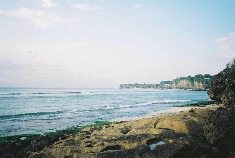 bali, bingin beach, coastline, landscape, seascape