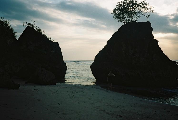 bingin beach, bali, seascape, landscape, 35mm, olympus
