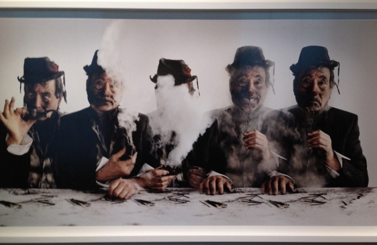 Tim Walker Story Teller Exhibition Somerset House photographer photography colour iphone photo monty python flying circus john cleese eric idle terry gilliam